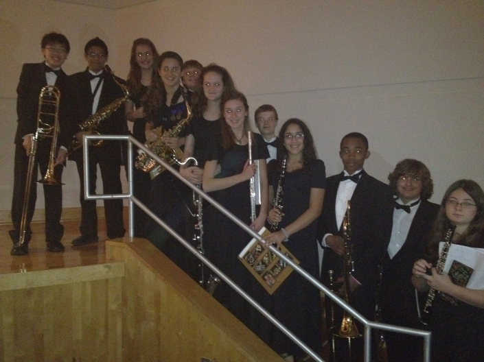 Millennium All-County Band members, 2011-2012